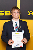 Boys Gymsports winner Samuel Clarke from Sacred Heart College. ASB College Sport Young Sportsperson of the Year Awards held at Eden Park, Auckland, on November 24th 2011.