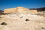 Castle of Castillo de San Felipe, Los Escullos, Cabo de Gata natural park, Almeria, Spain