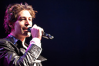 """Matisyahu performs during his """"Festival of Light"""" tour at the Electric Factory in Philadelphia, December 12, 2012."""
