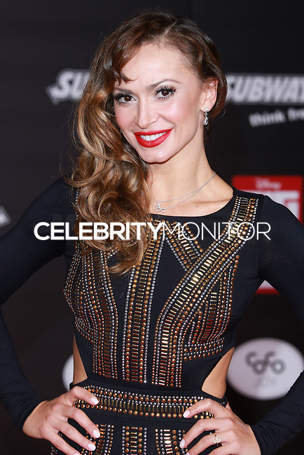 HOLLYWOOD, LOS ANGELES, CA, USA - NOVEMBER 04: Karina Smirnoff arrives at the Los Angeles Premiere Of Disney's 'Big Hero 6' held at the El Capitan Theatre on November 4, 2014 in Hollywood, Los Angeles, California, United States. (Photo by David Acosta/Celebrity Monitor)