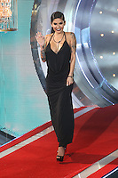 Cami Li at the Celebrity Big Brother series launch - Arrivals<br /> Borehamwood. 07/01/2015  Picture by: James Smith / Featureflash