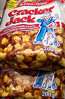 Bags of Cracker Jack are seen on display in a convenient store in Quebec City February 26, 2009