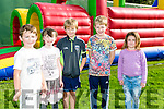 Tralee Rugby Club Supporters  lunch and club fun day on Sunday. Pictured l-r Michael Finnegan, Bred O'Sullivan, Billy Clifford, Keylan Lynch, Ellie McAuliffe