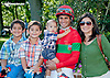 Abel Castellano Jr. and family at Delaware Park on 9/7/13