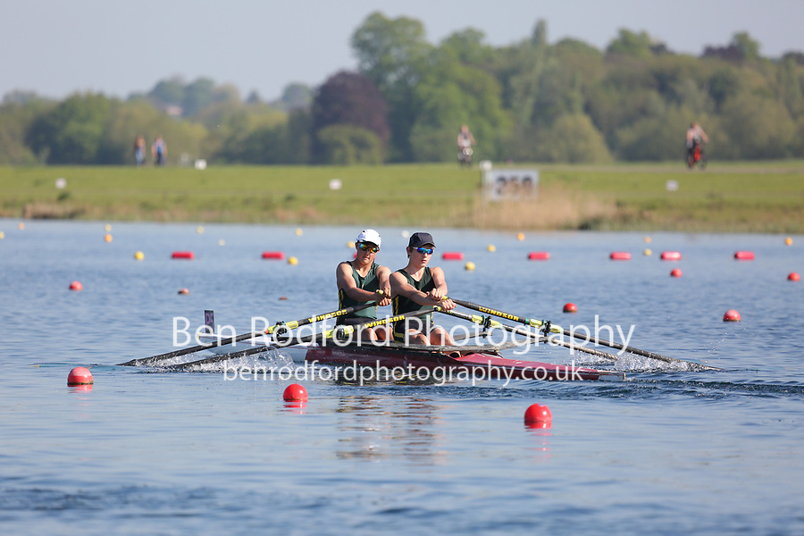 Race: 70  Event: J15 2x  B Final<br /> <br /> Junior Sculling Regatta 2018<br /> <br /> To purchase this photo, or to see pricing information for Prints and Downloads, click the blue 'Add to Cart' button at the top-right of the page.