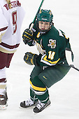 Peggy Wakeham (Vermont - 14) - The University of Vermont Catamounts defeated the Boston College Eagles 5-1 on Saturday, November 7, 2009, at Conte Forum in Chestnut Hill, Massachusetts.