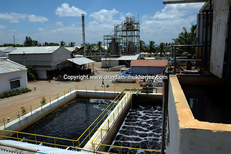 A water and salt recovery unit of Prem Textiles Ltd  in Tirupur, Tamilnadu. After lifting of quota system in textile export on 1st january 2005. Tirupur has become the biggest foreign currency earning town of India.