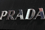 Apr 19, 2010 - Tokyo, Japan - The logo of the label Prada is pictured on a shop front the in the Ginza district of Tokyo, Japan, on April 19, 2010. Rina Bovrisse, a former senior Retail manager at PRADA Japan, is suing the Italian fashion designer after she was placed on involuntary leave last November and she was asked to 'eliminate' around 15 managerial staff who was categorized as 'old, fat, ugly, disgusting or not having the Prada look'.