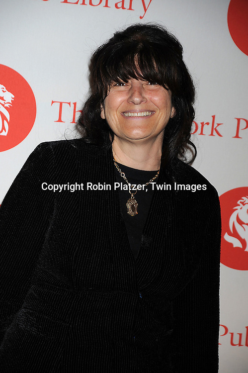 Ruth Reichl..arriving at The New York Public Library 2008 Library Lions Benefit Gala on November 3, 2008 at The New York Public Library at 42nd Street and 5th Avenue.....Robin Platzer, Twin Images