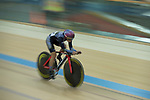Leung Wing Yee of the Ligne 8- CSR competes in the Women Elite - Individual Pursuit Final category during the Hong Kong Track Cycling National Championships 2017 at the Hong Kong Velodrome on 18 March 2017 in Hong Kong, China. Photo by Chris Wong / Power Sport Images