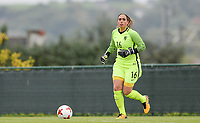 20170914 - TUBIZE ,  BELGIUM : Dutch Angela Christ pictured during the friendly female soccer game between the Belgian Red Flames and European Champion The Netherlands , a friendly game in the preparation for the World Championship qualification round for France 2019, Thurssday 14 th September 2017 at Euro 2000 Center in Tubize , Belgium. PHOTO SPORTPIX.BE | DAVID CATRY