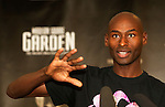 Men's mile, Bernard Lagat,speaks during a USATF press conference in New York, United States. 27/01/2012. Photo by Kena Betancur / VIEWpress.