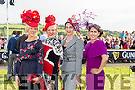 Finalists at the  Listowel Races with on Friday were Charlene Brosnan from Killarney, Louise Allen from Meath , Catherine Keane from Listowel, Jill Duggan from Killarney