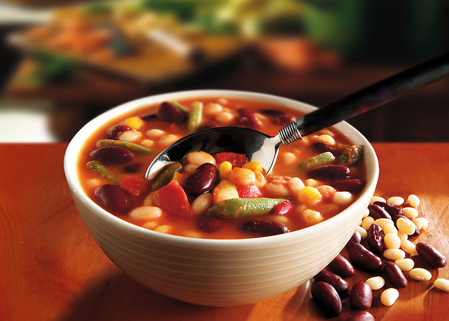Vegetarian bean soup