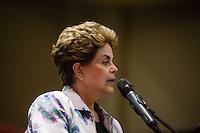 """SÃO PAULO, SP, 09.12.2016 - CONFERÊNCIA-SP - A ex-presidente Dilma Rousseff durante a conferência """"A luta politica na América Latina de Hoje"""", na Casa de Portugal, na noite desta sexta-feira, 09.(Foto: Adriana Spaca/Brazil Photo Press)"""
