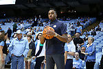 CHAPEL HILL, NC - FEBRUARY 12: Notre Dame's Bonzie Colson. The University of North Carolina Tar Heels hosted the University of Notre Dame Fighting Irish on February 12, 2018 at Dean E. Smith Center in Chapel Hill, NC in a Division I men's college basketball game. UNC won the game 83-66.