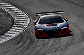 Pirelli World Challenge<br /> Intercontinental GT Challenge California 8 Hours<br /> Mazda Raceway Laguna Seca<br /> Sunday 15 October 2017<br /> Ryan Eversley, Tom Dyer, Dane Cameron, Acura NSX GT3, GT3 Overall<br /> World Copyright: Richard Dole<br /> LAT Images<br /> ref: Digital Image RD_PWCLS17_218