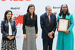 Queen Letizia of Spain gives 'International Friendship Awards' in Madrid. October 09, 2019. (ALTERPHOTOS/ Francis Gonzalez)