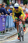 Ramunas Navardauskas (LTU) in action during the Men Elite Individual Time Trial of the UCI World Championships 2019 running 54km from Northallerton to Harrogate, England. 25th September 2019.<br /> Picture: Eoin Clarke | Cyclefile<br /> <br /> All photos usage must carry mandatory copyright credit (© Cyclefile | Eoin Clarke)