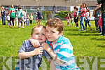 T.J. Daly and Ryan Daly at the Connolly Park  fun day on Saturday