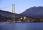 Lion Gate Bridge in Vancouver