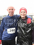 Louise Irvine and Michael Aylward who took part in the Duleek & District 5K run. Photo:Colin Bell/pressphotos.ie