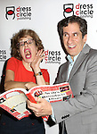 Jackie Hoffman and Seth Rudetsky attends the Seth Rudetsky Book Launch Party for 'Seth's Broadway Diary' at Don't Tell Mama Cabaret on October 22, 2014 in New York City.