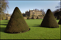 Bmth News (01202 558833)<br /> Pic: PhilYeomans/BNPS<br /> <br /> Parnham House in Dorset in 2001 when owned by renowned furniture designer John Makepeace.<br /> <br /> Phoenix from the flames...<br /> <br /> A stately home which was burnt to the ground three years ago could now be restored after a buyer was finally found for it.<br /> <br /> Grade I listed Parnham House, near Beaminster, Dorset, is now just a charred shell of the magnificent mansion it once was following the fire in April 2017.<br /> <br /> Its previous owner, hedge fund manager Michael Treichl, was arrested on suspicion of arson only to later drown in an apparent suicide. <br /> <br /> The Elizabethan manor, which had been worth £15m before the blaze, was on the market for a cut-price £2.5million due to the scale of the damage of it.<br /> <br /> The price the private individual paid for the 38,000sq ft property has not been disclosed.