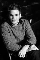 """Sebastien Huberdeau , <br /> lancement de la serie TV Histoire de famille<br />  : une saga familiale ayant pour toile le Québec des années 60 et 70<br /> <br />  l'- Launch of the TV serie"""" Histoire de famille""""<br />  : the story of a Quebec family during the 60's and 70's<br /> <br /> photo : (c)  Images Distribution"""