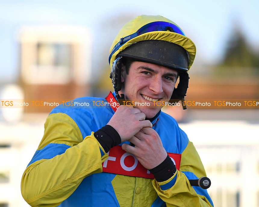 Jockey Gavin Sheehan during Horse Racing at Plumpton Racecourse on 10th February 2020