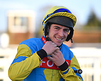 Jockey Gavin Sheehan during Horse Racing at Plumpton Racecourse on 10th February 2020