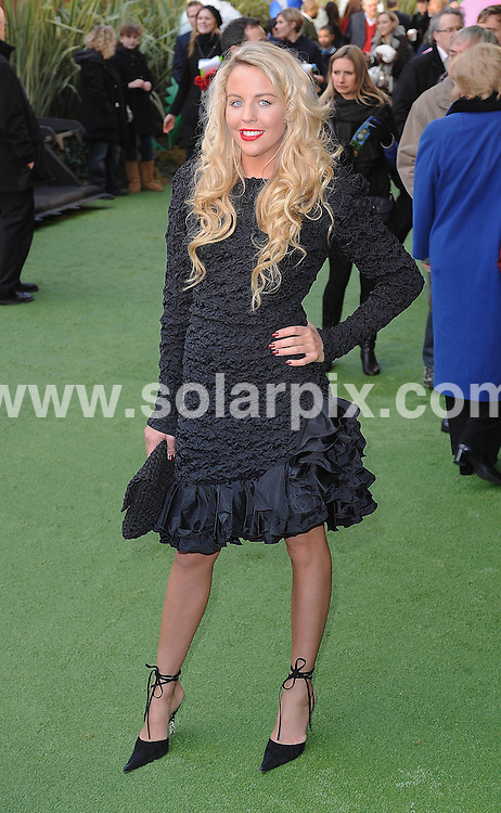 **ALL ROUND PICTURES FROM SOLARPIX.COM**                                             **WORLDWIDE SYNDICATION RIGHTS**                                                                                  Caption: UK film premiere of Gnomeo and Juliet at Odeon Leicester Square, London, UK. 30 January 2011                                                                             This pic: Lydia Bright                                                       JOB REF: 12733 TLP       DATE:  30_01_2011                                                          **MUST CREDIT SOLARPIX.COM OR DOUBLE FEE WILL BE CHARGED**                                                                      **MUST AGREE FEE BEFORE ONLINE USAGE**                               **CALL US ON: +34 952 811 768 or LOW RATE FROM UK 0844 617 7637**