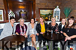 Grainne Coffey, spa Road Tralee celebrating a special birthday with family and friends at Benners Hotel on Saturday  l-r Fiona Coffey O'Connor, Ester Coffey, Grainne Coffey, Sandra O'Keeffe, Joan Barney, Tracy O'Keeffe and Niamh Coffey