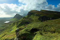 The Quiraing and the Trotternish Ridge, Isle of Skye, Inner Hebrides, Highland<br /> <br /> Copyright www.scottishhorizons.co.uk/Keith Fergus 2011 All Rights Reserved