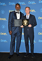 LOS ANGELES, CA. February 02, 2019: Dennis Haysbert & Spike Jonze at the 71st Annual Directors Guild of America Awards at the Ray Dolby Ballroom.<br /> Picture: Paul Smith/Featureflash