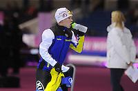 SCHAATSEN: HEERENVEEN: IJsstadion Thialf, 17-11-2012, Essent ISU World Cup, Season 2012-2013, Ladies 1500 meter Division B,  Johanna Östlund (SWE), ©foto Martin de Jong