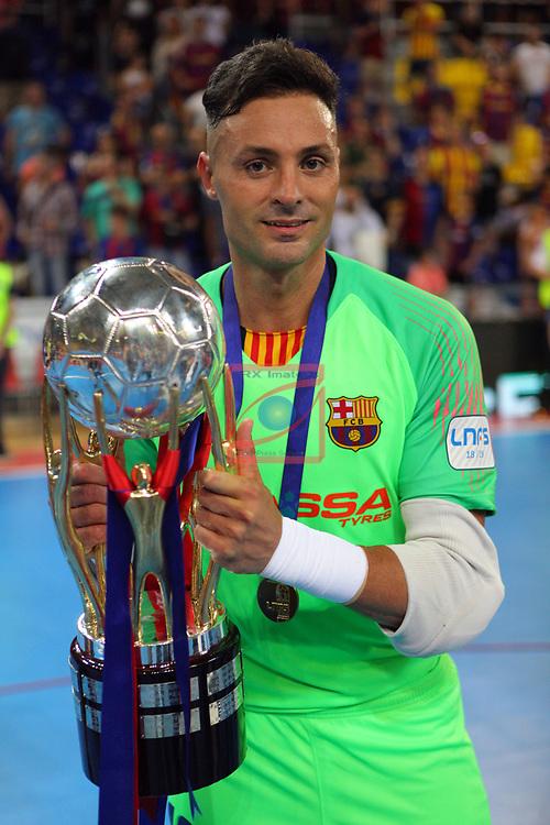 League LNFS 2018/2019.<br /> Play Off. Game: 5.<br /> FC Barcelona Lassa vs El Pozo Murcia: 3-2.<br /> Juanjo.