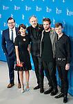 Actor Robert Pattison, Dane DeHaan , and Alessandra Mastroniardi promotes his film Life during the LXV Berlin film festival, Berlinale at Potsdamer Straße in Berlin on February 9, 2015. Samuel de Roman / Photocall3000 / Dyd fotografos-DYDPPA.