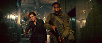 Overlord (2018) <br /> Mathilde Ollivier as Chloe, Jovan Adepo as Boyce<br /> *Filmstill - Editorial Use Only*<br /> CAP/MFS<br /> Image supplied by Capital Pictures