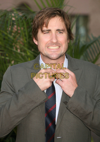 LUKE WILSON.42nd Annual Academy Of Country Music Awards held at the MGM Grand Garden Arena, Las Vegas, Nevada, USA..May 15th, 2007.half length stubble facial hair hands tie funny face .CAP/ADM/BP.©Byron Purvis/AdMedia/Capital Pictures