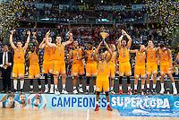 Herbalife Gran Canaria champion of the Supercopa Championship Liga Endesa 2016-2017 in Vitoria. September 24, Spain. 2016. (ALTERPHOTOS/BorjaB.Hojas) NORTEPHOTO.COM
