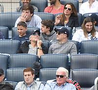 NEW YORK, NY - September 30: Jon Bon Jovi attends New York Yankees vs Toronto BlueJays game at Yankee Stadium  on September 27, 2017 in the Bronx New York . @John Palmer / Media Punch