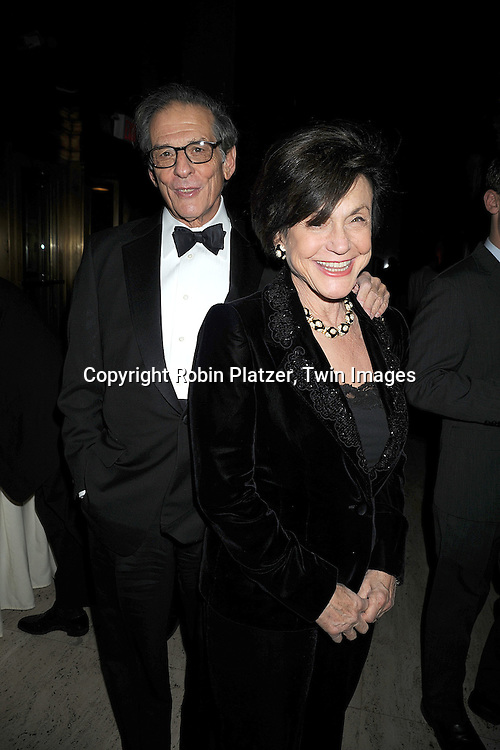 Robert Caro and wife ..at The 2008 National Book Awards Dinner and Ceremony on November 19, 2008 at Cipriani's Wall Street in New York City. ....Robin Platzer, Twin Images