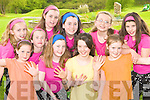 FAME kids from the Killarney Stage School presentation of ENCORE in the Malton Hotel, Killarney on 6th and 7th of May l-r: Rebekah O'Shea, Tara Casey, Aoife O'Donoghue, Laura O'Sullivan. Back row: Rachel Randles, Lydia Coughlan, Niamh O'Sullivan, Erin Crowley, Shannon O'Shea and Saoirse O'Connor