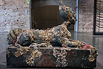 "Venezia - Punta della Dogana . La mostra di Damien Hirst: ""Tresaures from the Wreck of Unbelievable. ""Sphinx""""."