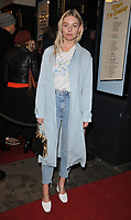 Nell Hudson at the &quot;Home, I'm Darling&quot; press night, Duke of York's Theatre, St Martin's Lane, London, England, UK, on Tuesday 05th February 2019.<br /> CAP/CAN<br /> &copy;CAN/Capital Pictures