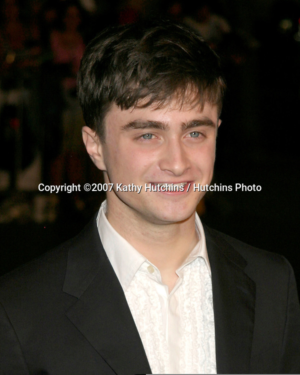 """Daniel Radcliffe.""""December Boys"""" Premiere.Director's Guild Theater.Los Angeles,  CA.September 6, 2007.©2007 Kathy Hutchins / Hutchins Photo..."""