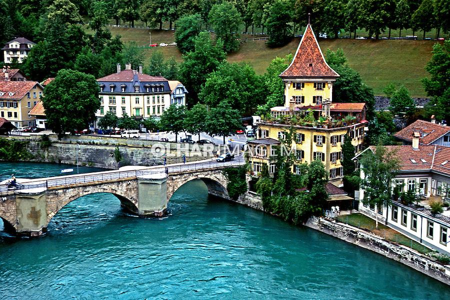 Cidade de Berna. Suíça. 1998. Foto de Stefan Kolumban.