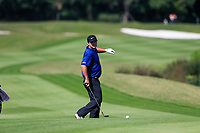 Patrick Reed (USA) on the 2nd fairway during the 3rd round at the WGC HSBC Champions 2018, Sheshan Golf CLub, Shanghai, China. 27/10/2018.<br /> Picture Fran Caffrey / Golffile.ie<br /> <br /> All photo usage must carry mandatory copyright credit (&copy; Golffile | Fran Caffrey)
