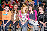 Front row seat at the 'Fight Night' in aid of St Michaels/Foilmore GAA Club at The Ring of Kerry Hotel on Saturday pictured l-r; Saoirse Kirby, Emer O'Sullivan, Ciara O'Shea, Donna McCarthy & Sharon O'Sullivan.